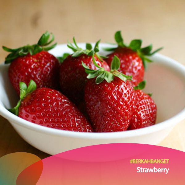 Topping Strawberry. #BerkahBanget