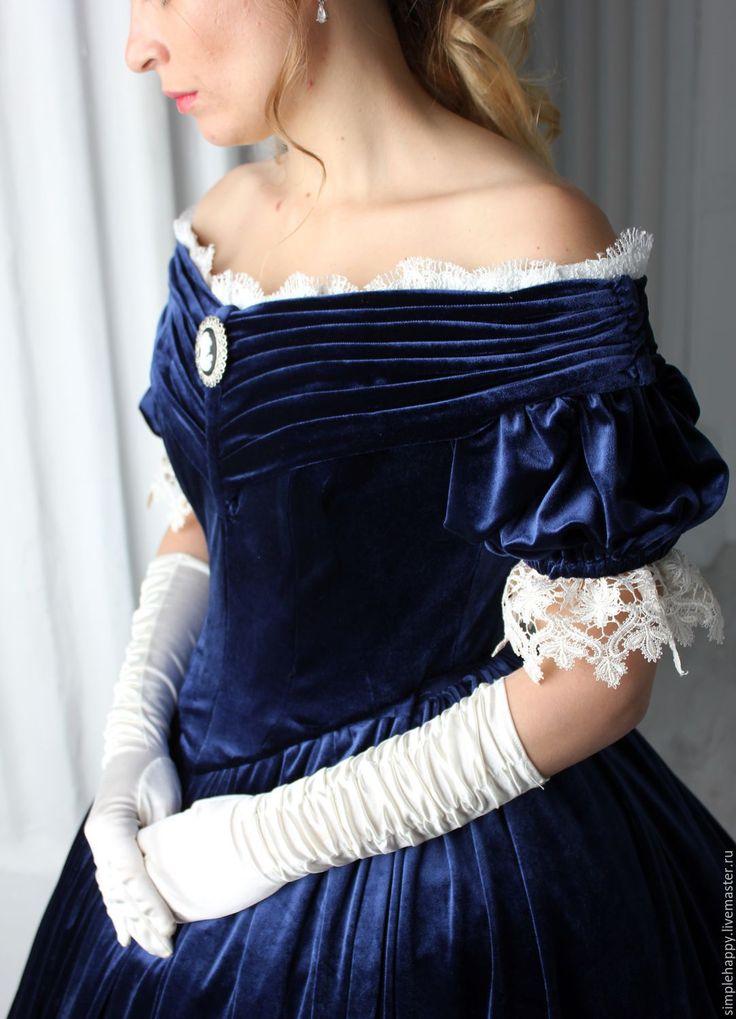 Handmade Civil War era Ball Gown - ball gown, dress, dressmaking, historical dress