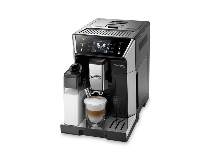 De Longhi Primadonna Ecam 550 55 Sb Bean To Cup Coffee Machine Espressomachine Koffie Cappuccino