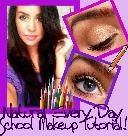 natural everyday school makeup