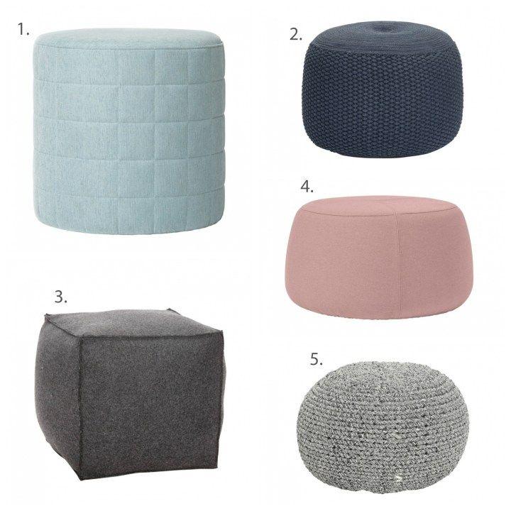 Post: Los puffs son tendencia --> accesorios hogar, asientos extra, complementos hogar, decoración interiores, diseño hogar, muebles de diseño, puf, puffs, puffs tela algodon lana, sillas tela, tiendas hogar