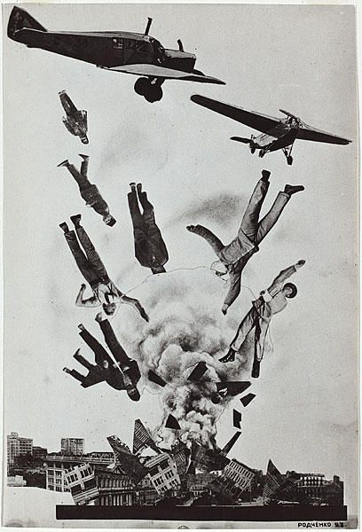 Коллаж «Кризис»  Коллаж Александра Родченко. 1923 год.