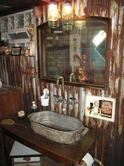 30 Inspiring Rustic Bathroom Ideas For Cozy Home Man Cave Bathrooms Pinterest Rustic