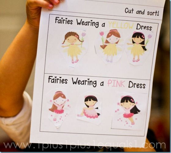 Home Preschool Letter Fis for Fairy!