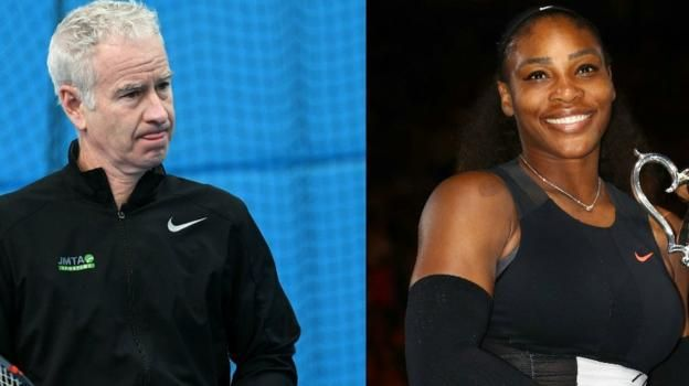 """John McEnroe proposes a men v women contest to prove his claim that Serena Williams would be ranked """"700 in the world"""" on the men's circuit."""