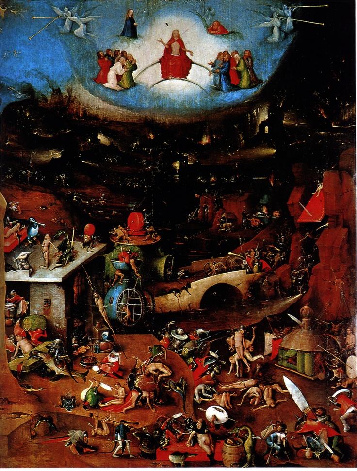 Hieronymus Bosch -  The Last Judgement
