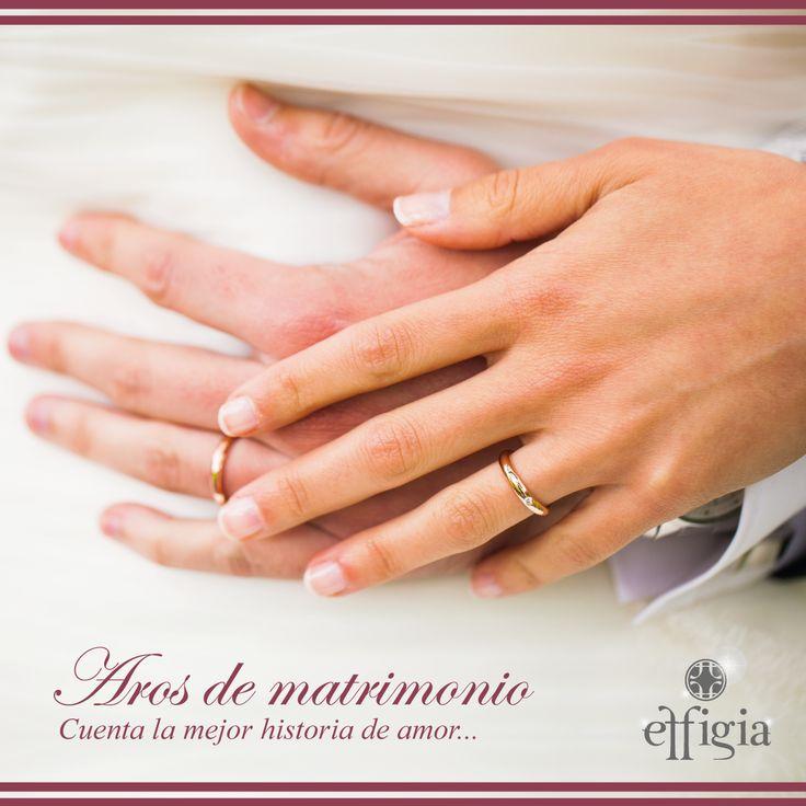Conoce los anillos perfectos para ti, recibe asesoría personalizada. ¡Contáctanos y cuenta la mejor historia de amor! #Effigia #Compromiso #Aros #Matrimonio