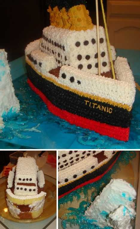 Hold The Icing: A Baker's Dozen Titanic Cakes | WebUrbanist