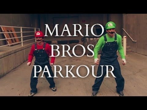 #SuperMario Brothers #Parkour [In Real Life]