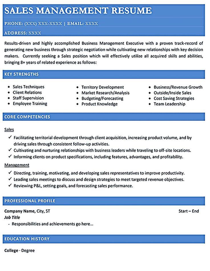 Sales Resume Key Strengths. software engineer resume example ...