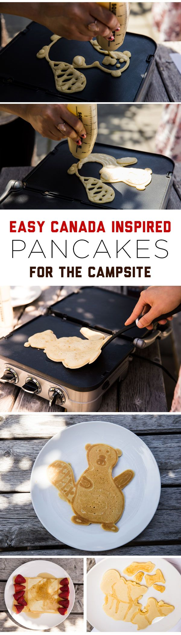 Make your own Buddy the Beaver 'cake, Canada flag, or for an added challenge, a map of Canada.