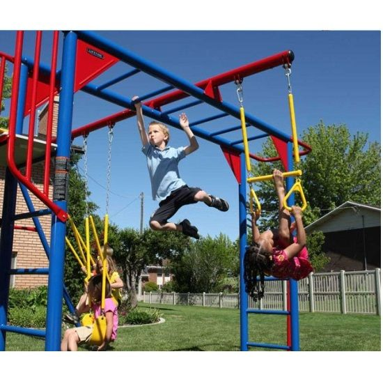 lifetime swing sets 90177 primary color money bar swing