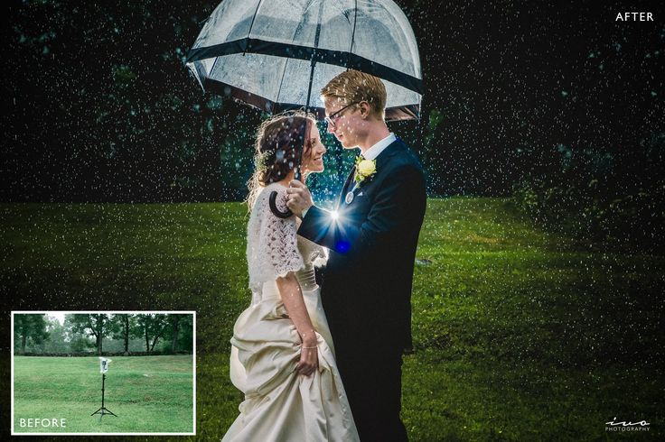 Epic Rainy Wedding Day Photos Tutorial • Ivo Photography - Sweden & International wedding photographer