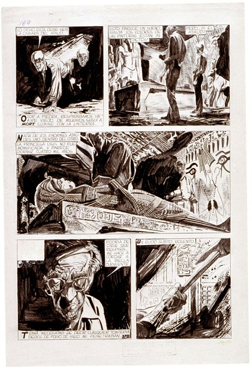 Alberto-Breccia.net « Mort Cinder « Bibliographie – Alberto Breccia