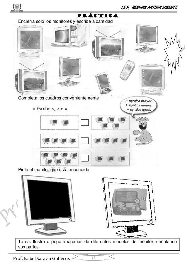 curso computación primero de primaria Computacion