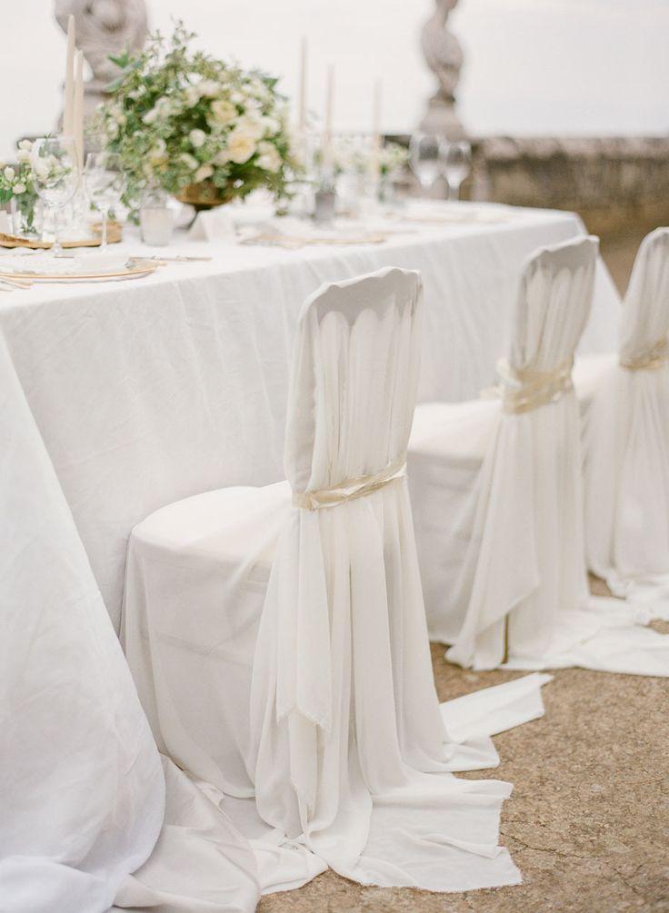 Delightful Amalfi Coast Wedding Editorial. Wedding Chair CoversWedding ... Awesome Ideas