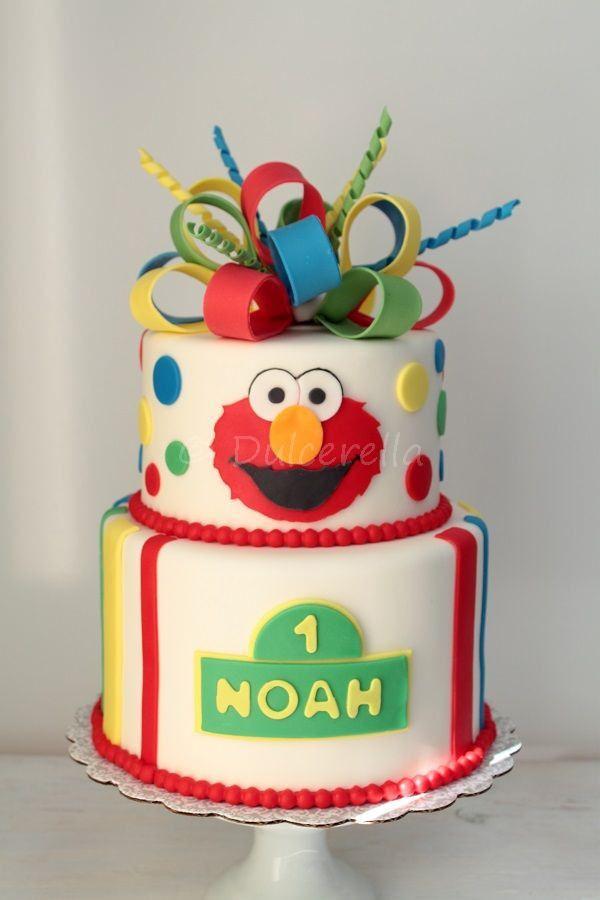 https://flic.kr/p/tYuWS3 | Elmo Cake for Noah | Double chocolate cake with white chocolate swiss meringue buttercream and fresh raspberries