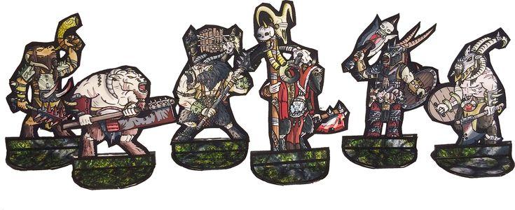 Beastmen Warband Released! - http://www.braveadventures.com/news/2014/08/02/beastmen-warband-released/