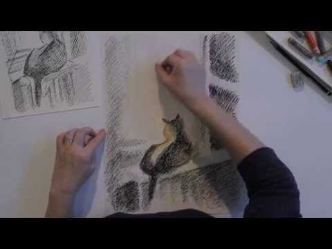 «Уроки рисования». Масляная пастель (20.11.2015) - YouTube
