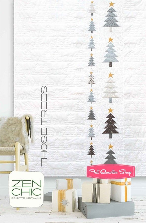 Those Trees Quilt Pattern <br/>Zen Chic | Quilts | Pinterest ...
