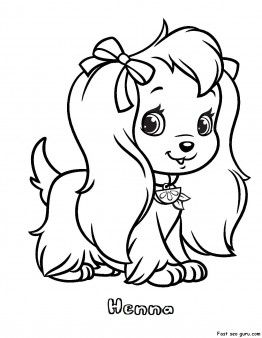 Free Printable Henna Strawberry Shortcake Coloring Pages For Girls