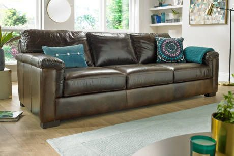 Leather Sofas, Corners and Chairs | Sofology