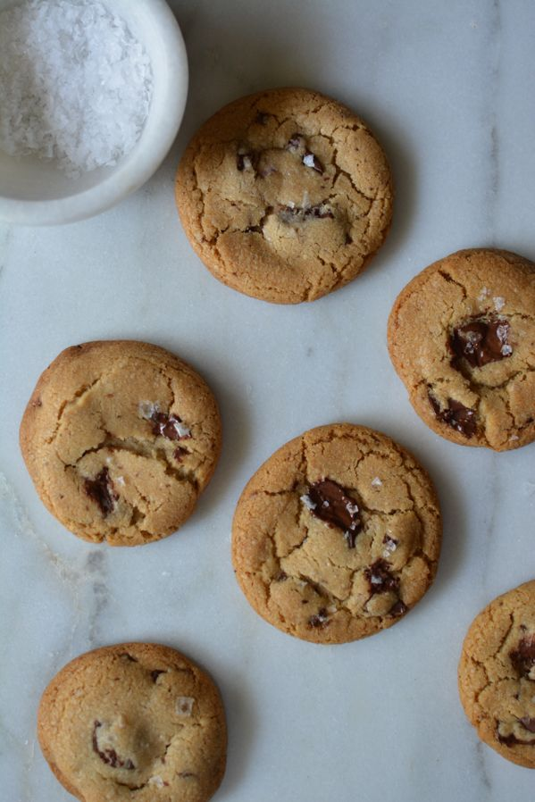 Brown Butter Chocolate Chip Cookies  http://www.sprinkledwithjules.com/home/2017/10/1/brown-butter-chocolate-chip-cookies