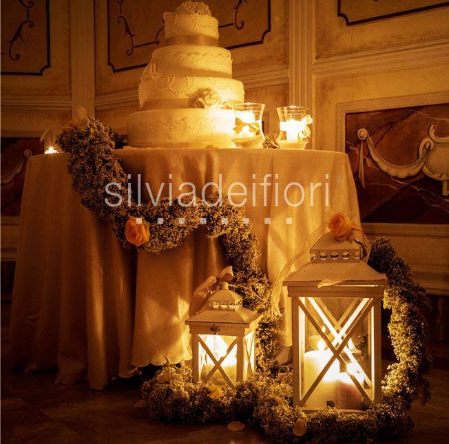 Allestimenti Floreali, atmosfere romantiche per il taglio della torta!