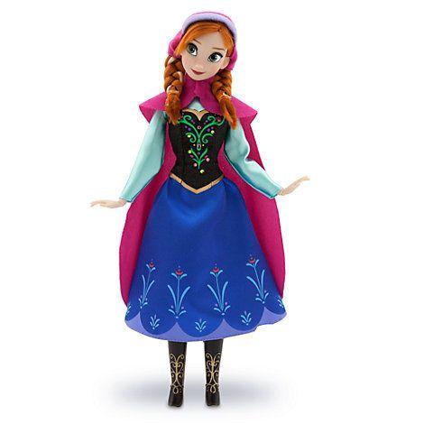 Frost Anna klassisk docka