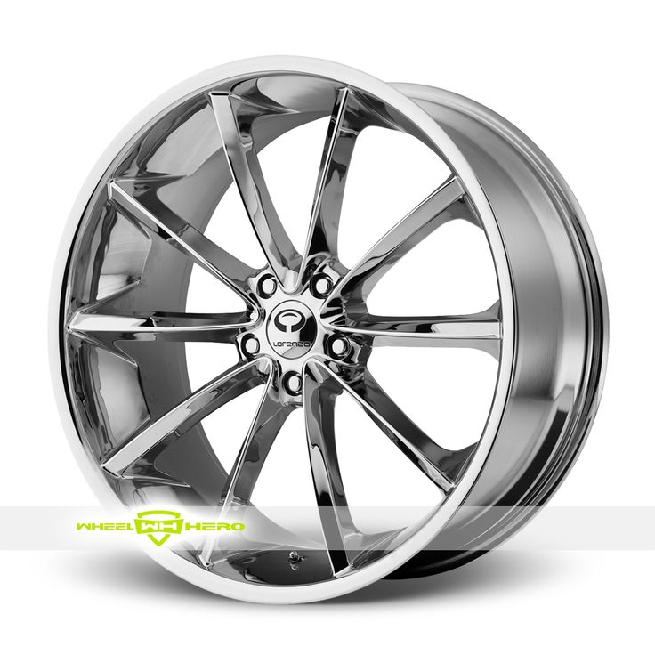 Lorenzo WL32 Chrome Wheels For Sale  - For more info: http://www.wheelhero.com/customwheels/Lorenzo/WL32-Chrome