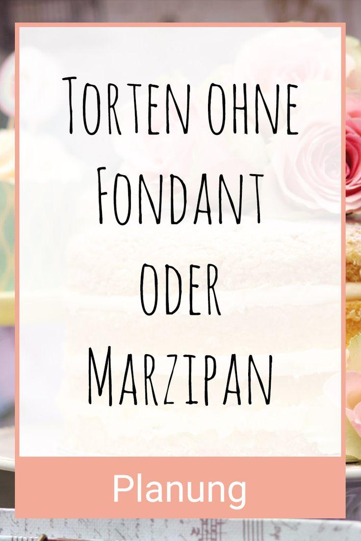 Torte für die Hochzeit / Hochzeitstorte ohne Fondant und Marzipan