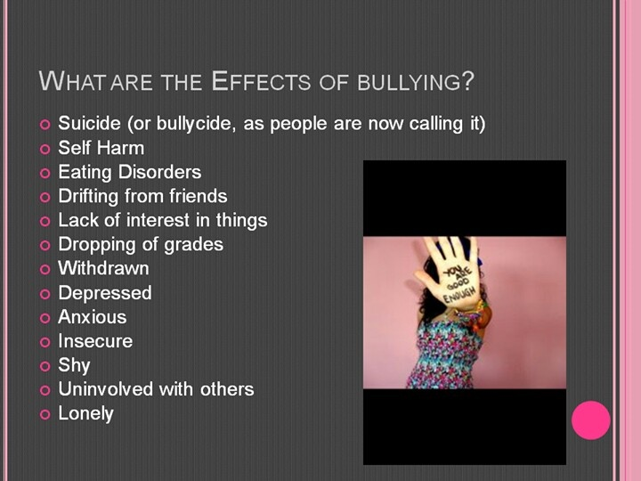 Anxiety, Depression, and Suicide: The Lasting Effects of Bullying