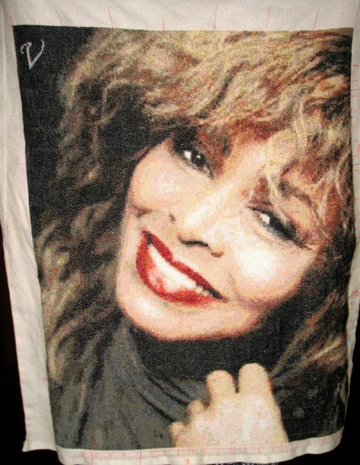 #TinaTurner... #PcStitch...