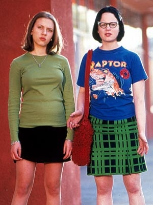 ghost world... yah thats scarlett  johansen and thora burch. bam.