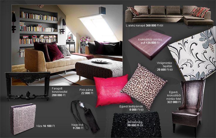 Otthoni lakberendezés, különleges bútorok, textilek és tapéták · Inspiráció · MüllerMónika.hu