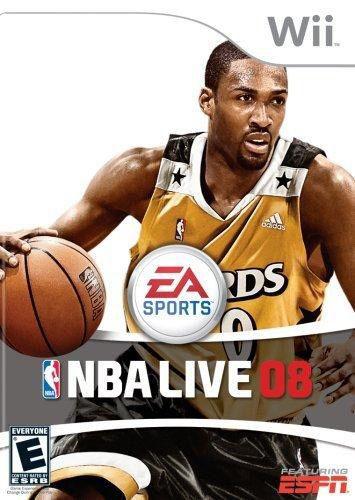 NBA Live 08 - Wii Game