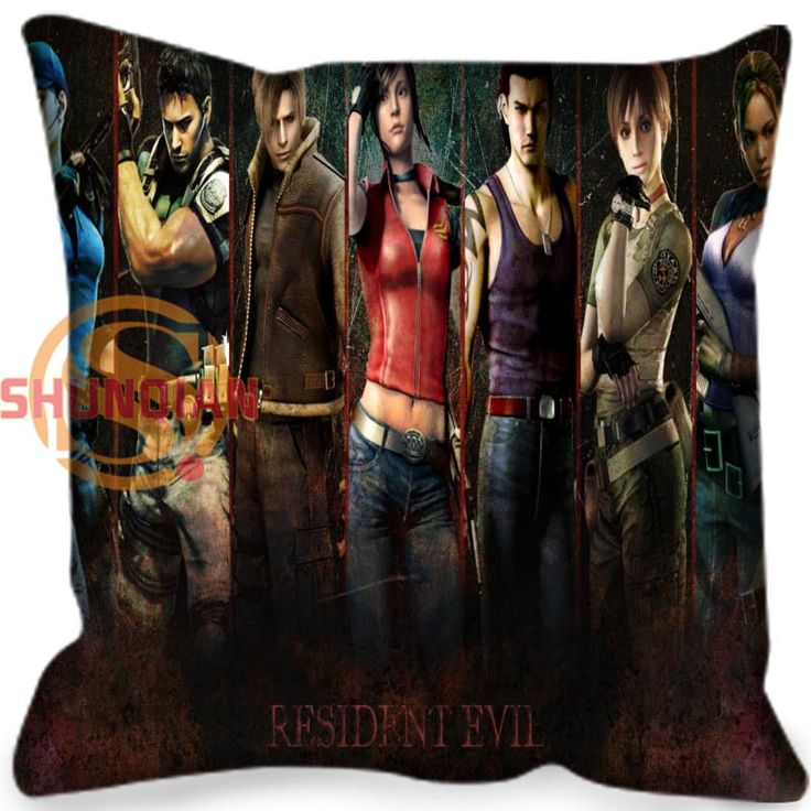 New arrival resident Evil Style throw Pillowcase Square Zippered Pillow Cover Custom Gift H@0209-129 #Affiliate