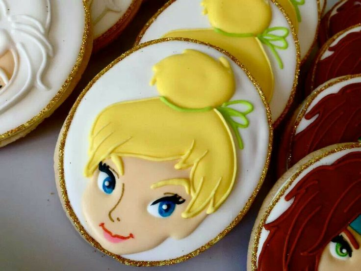 Tinkerbell Cookie
