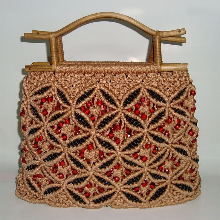 macrame purses and bags                                                                                                                                                     More
