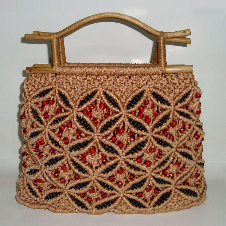 Macrame Purses And Bags Pinteres