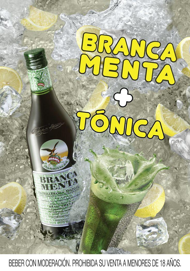 Branca Menta + Tonica