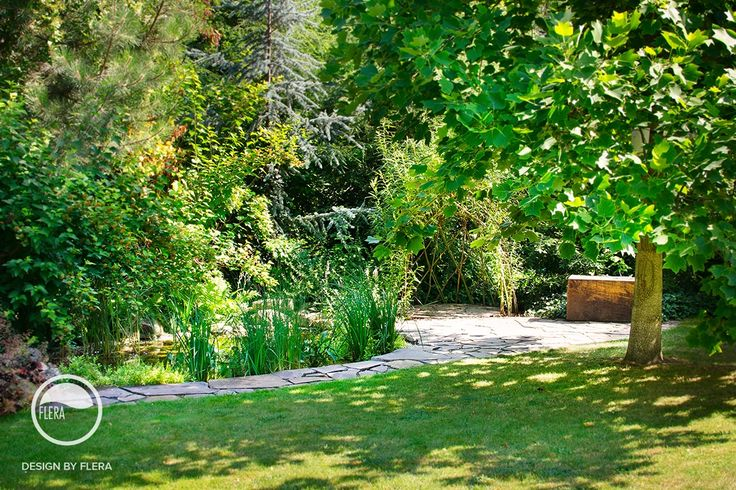 #landcape #architecture #garden #path #bench #water #feature #bio #pond