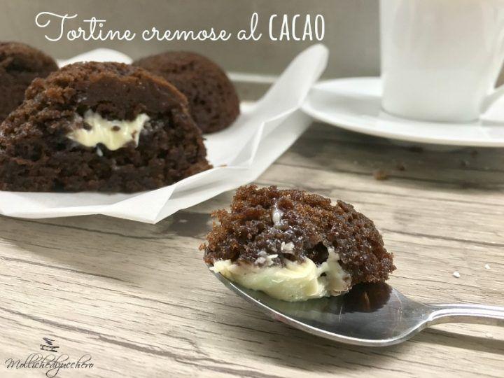 tortine cremose al cacao