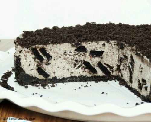 ...No Bake Oreo Cheesecake - Life Love and Sugar