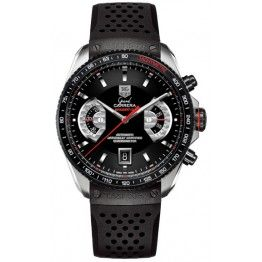 Best TAG Heuer Grand Carrera Calibre 17 RS Automatic Chronograph Watch CAV511C.FT6016