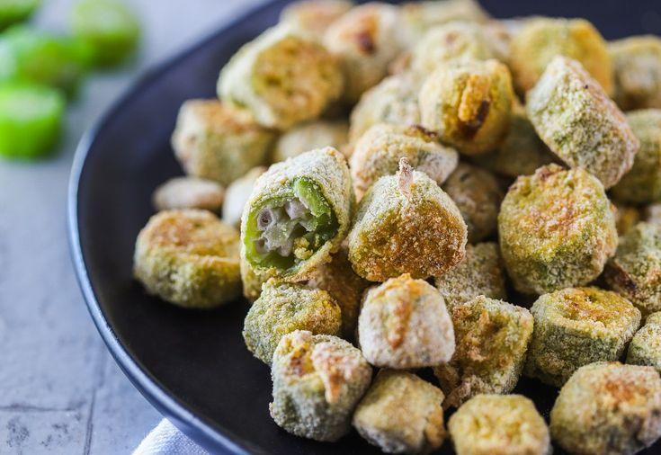 Air fryer fried okra recipe in 2020