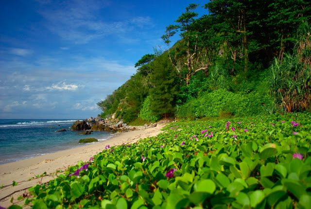 momong beach, a hidden beach at aceh besar