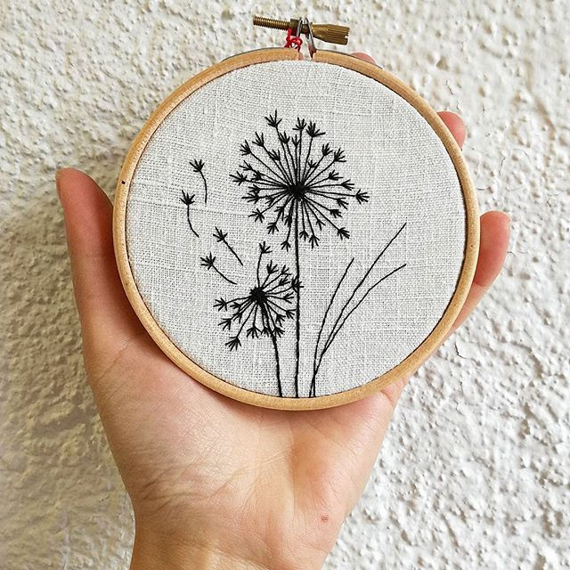 Tattoo embroidery 💕 . . . . . . . . . . . #tatoueusedetissu #tattooembroidery #tatouage #tatou #tattoo #delphil #dandelion #pissenlit #ink #inkart #handembroidery #embroidery #embroideryart #broderie #broderiemain #handmade #faitmain #brodeuse #embroiderer #embroidered #bordado #madeinfrance #delphil #tatoueusedetissu© #modernembroidery #stitch #stitching #contemporaryembroidery #embroideryinstaguild #embroiderylove