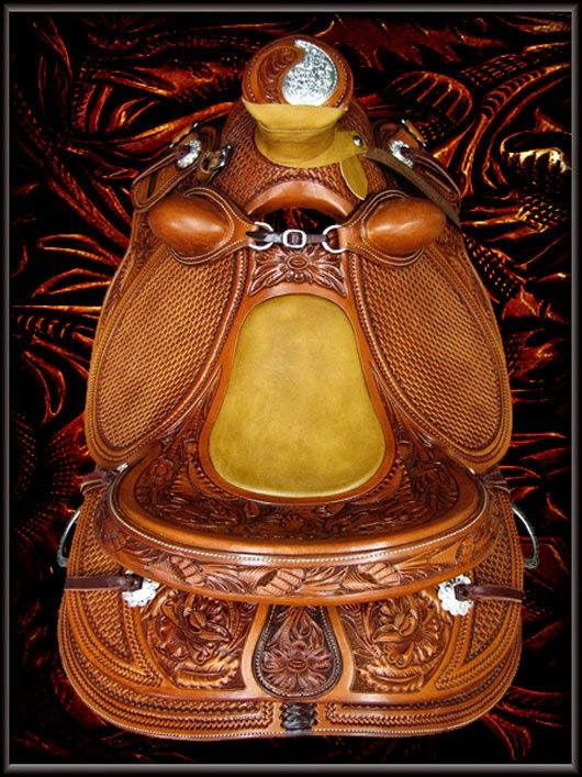 buckaroo saddles | is a Wade saddle built on a Jeremiah Watt signature hand-made saddle ...