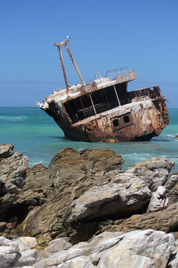 Wreck Cape l'Agulhas South Africa